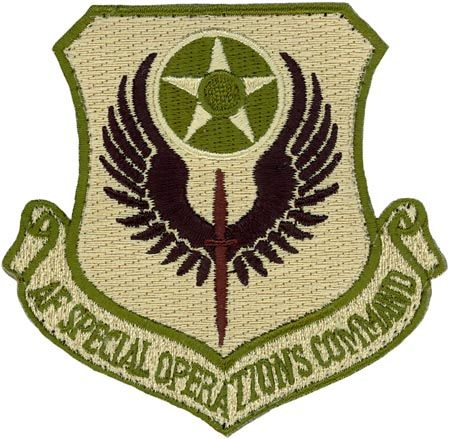 Special Forces Command Patch | USAF Air Force Special Operations Command Multi Camo OCP Patch