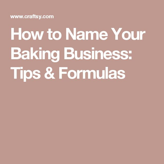 25+ Best Ideas About Cake Business Names On Pinterest