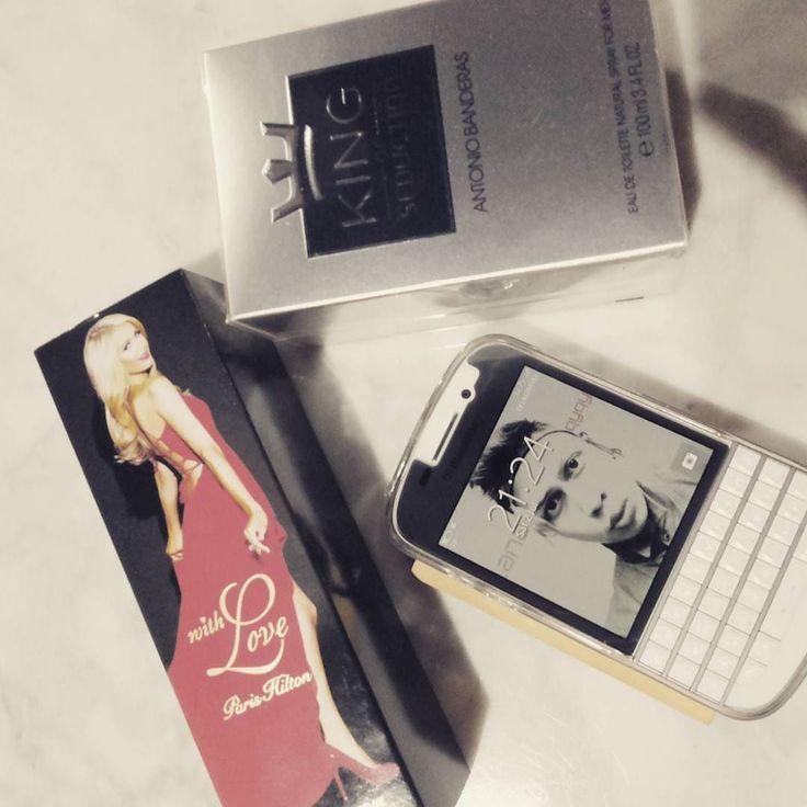 #inst10 #ReGram @qyqycupid09: Terimakasih @mataharideptstore akhirnya aku punya koleksi parfum dari @parishilton and @antoniobanderasoficial harganya yang fantastis  tapi tetap i  @parishilton  #parishilton #withmylove #parfume #sexy #girl #antoniobanderas #love #beautiful #cool #fans #blackberry #store #amazing #america #hollywood #losangeles #dreams #qyqycupid09 #BlackBerryClubs #BlackBerryPhotos #BBer