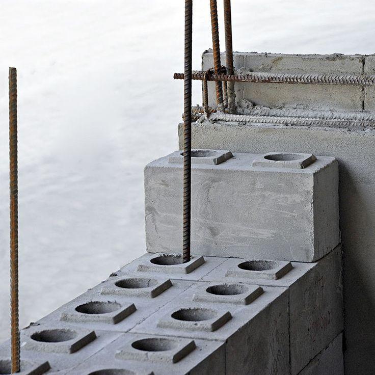 Cellular Concrete Mix Design : Cellular concrete block hollow for load bearing walls