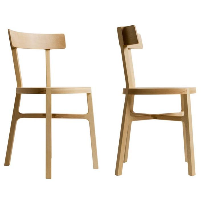 stia, a chair fully made of solid beech and inspired by classic tavern chairs [giulio iacchetti, founder of internoitaliano, & BeD]