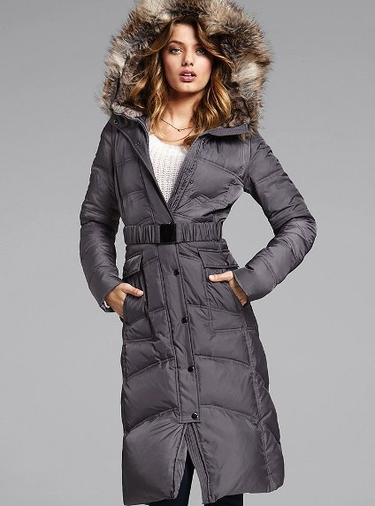 Long Puffer Coat - Victoria's Secret#