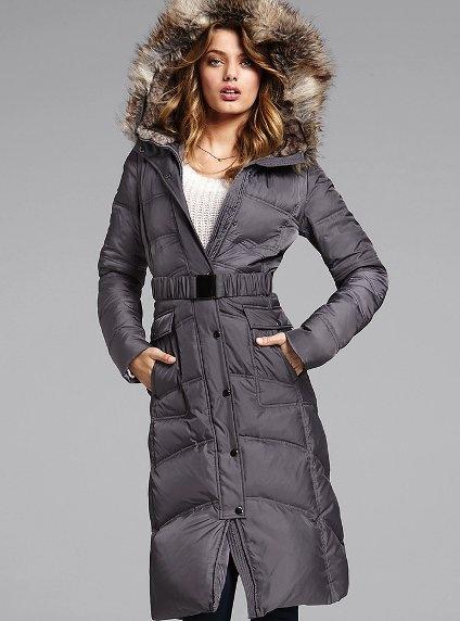 Long Puffer Coat - Victoria's Secret#
