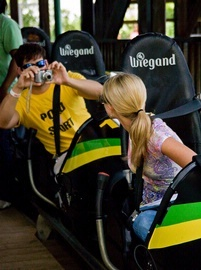 Experience the thrill of Mystic Mountain's bobsled ride at 700 ft. above sea level in Ocho Rios.