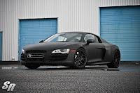 Audi with Carbon Fiber Wrap!