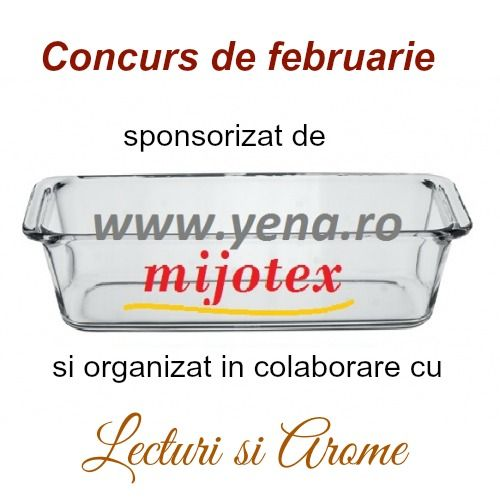 "Concurs de februarie - ""Gateste sanatos in vase de yena"""