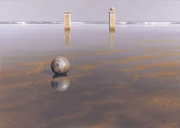 "Keith Alexander, ""Beach Ball"""