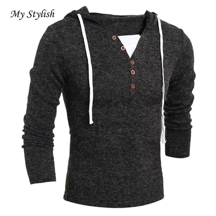 Hot ! Men's Autumn Winter Fashion Hooded Top Blouse High Quality Winter Warm Plus Size Dec 5