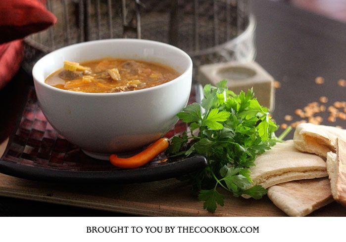 Morrocan Lamb Soup