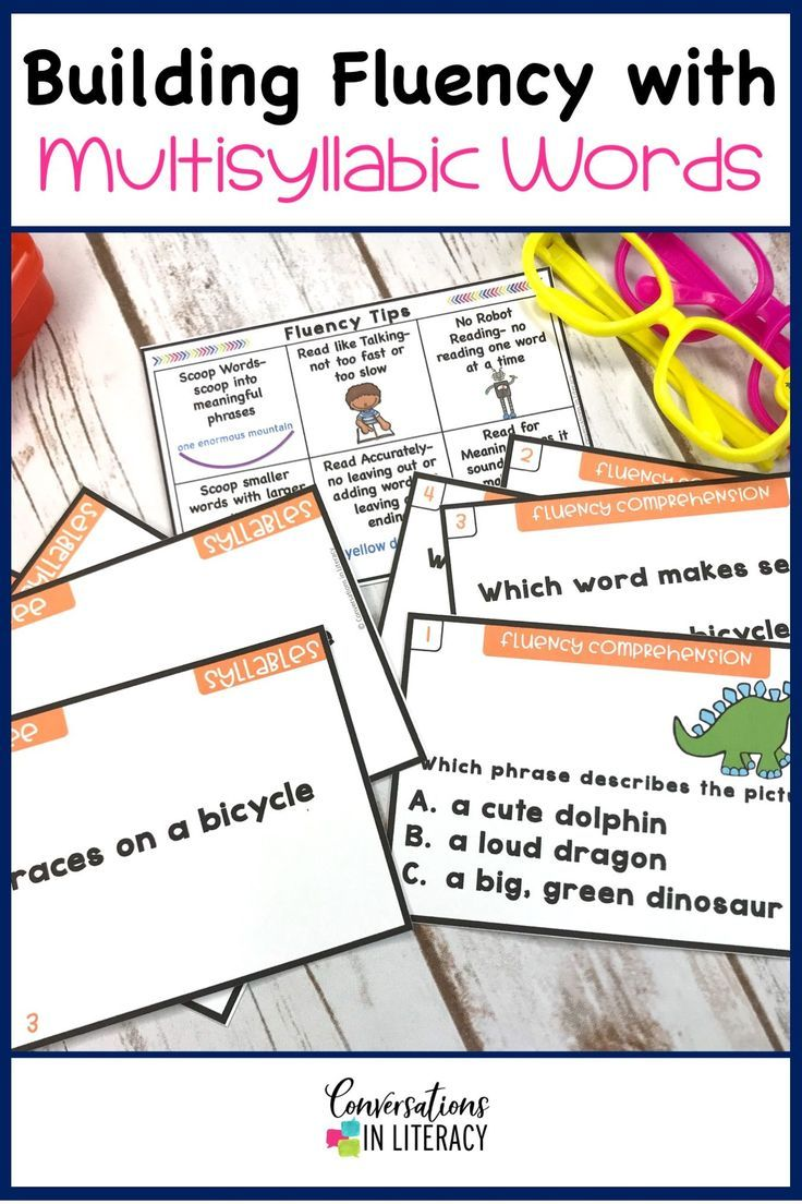 hight resolution of Decoding Multisyllabic Words - Conversations in Literacy   Multisyllabic  words activities