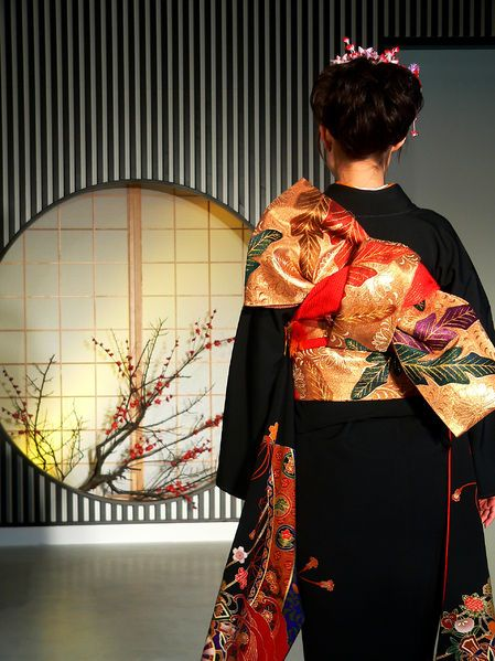着物の後ろ姿 kimono backshot #kimono #japan