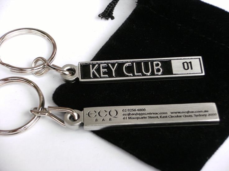 A custom made pewter keyring produced by thrive promotional and used for a membership initiative.