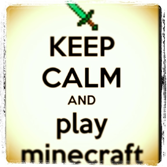 Play minecraft!!! All mu kids care about is this silly game Why????