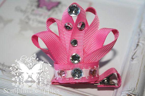 Tiara Crown Clip