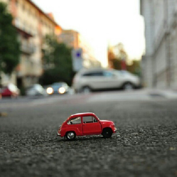 Fiat 600 on the road :)