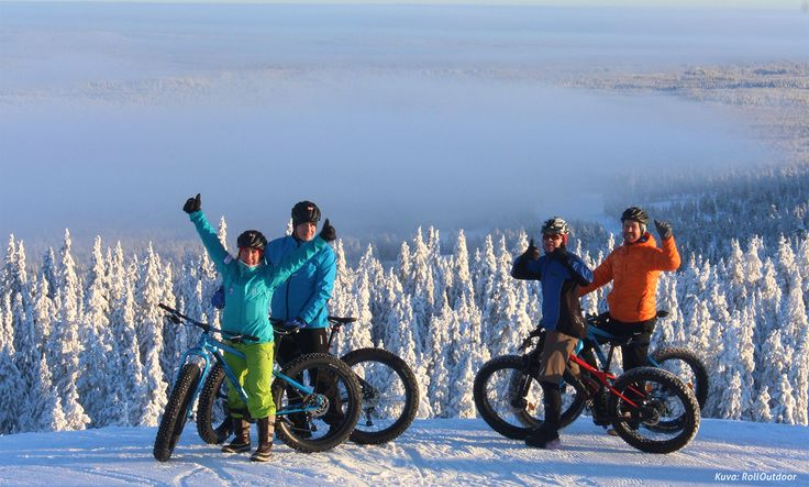 Rent fatbikes from Santasport and experience the wonderful nature around Rovaniemi yourself!