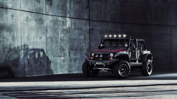 Offroad Jeep - no road no problem