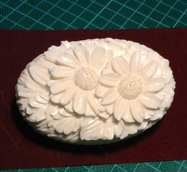 Карвинг по мылу (вырезание розы) - Ярмарка Мастеров - ручная работа, handmade