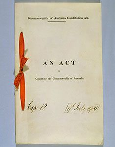 Education resources - The Commonwealth of Australia Constitution Act