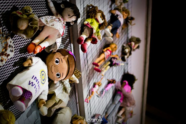 Doll Wall by Larry Jordan on 500px