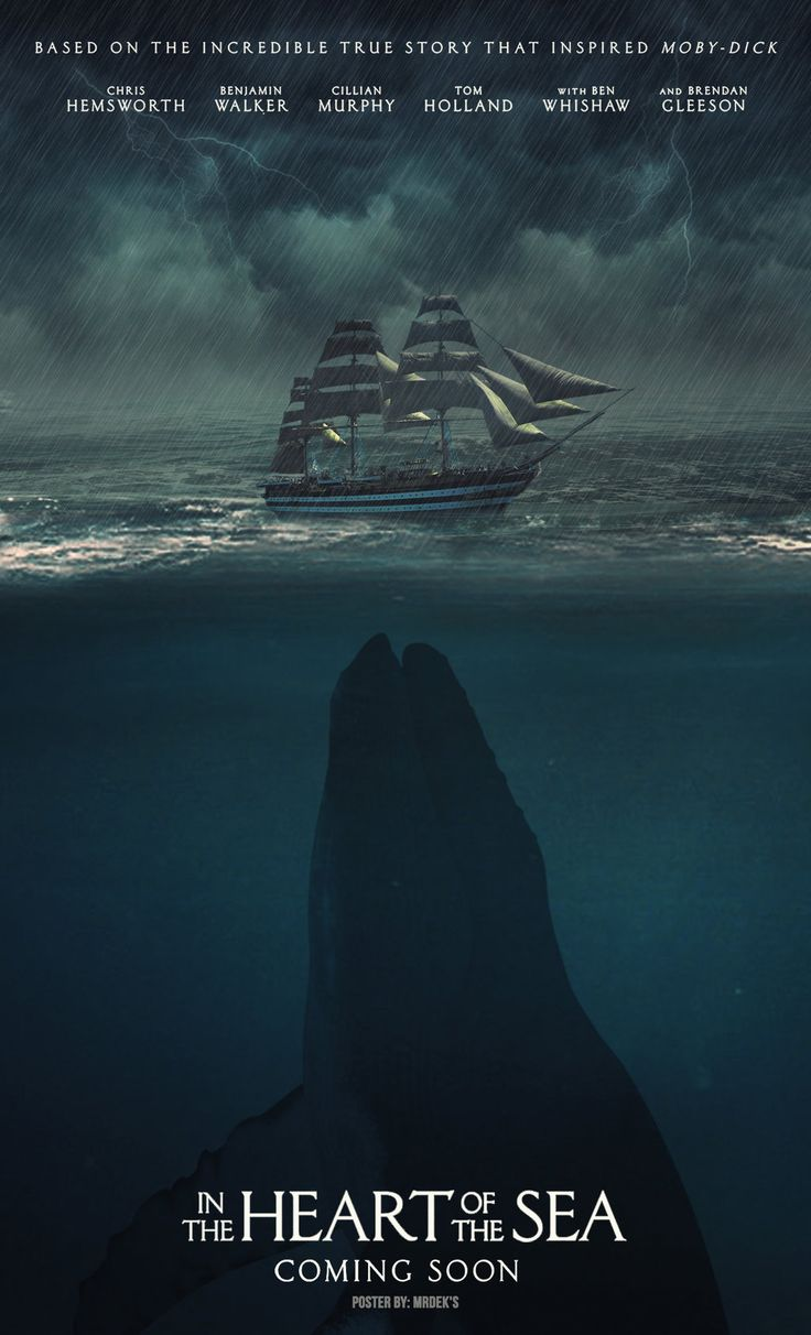 In The Heart Of The Sea - Poster (2015) by MrDeks.deviantart.com on @DeviantArt