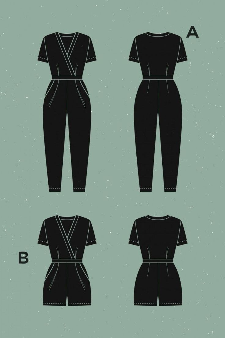 Deer And Doe Sirocco Jumpsuit And Romper Pattern Jumpsuit Pattern Jumpsuit Pattern Sewing Jumpsuits And Romper