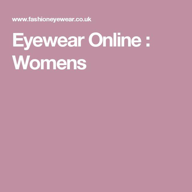 Eyewear Online : Womens