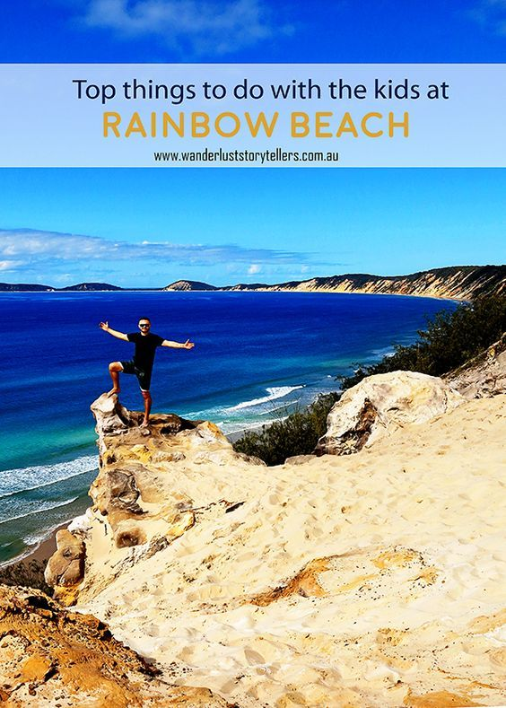 With a location so rich in Aboriginal legends and myths, it is understandable why these beautiful colours of Rainbow Beach are now seen and admired by people from right across the world. #Rainbowbeach #QLD #Australia