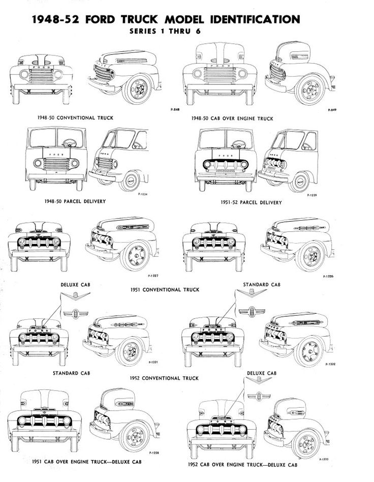627 best 48 - 52 Fat Fendered Ford Trucks images on Pinterest | Ford ...