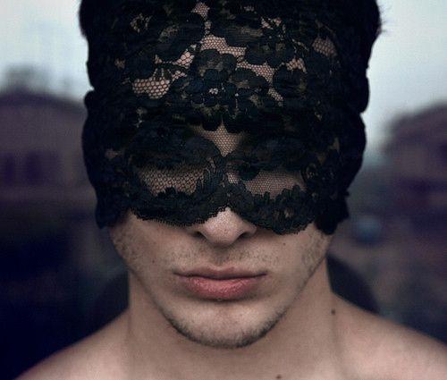 black, black lace, blindfold, fierce, gorgeous, hunks, lace, lace mask, lust desire, man, mask, masquerade, sexy
