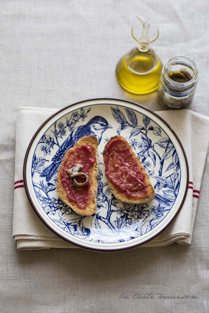 Pane e pomodoro | La tarte maison