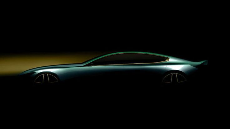 BMW teases slinky four-door that might be 8 Series Gran Coupe
