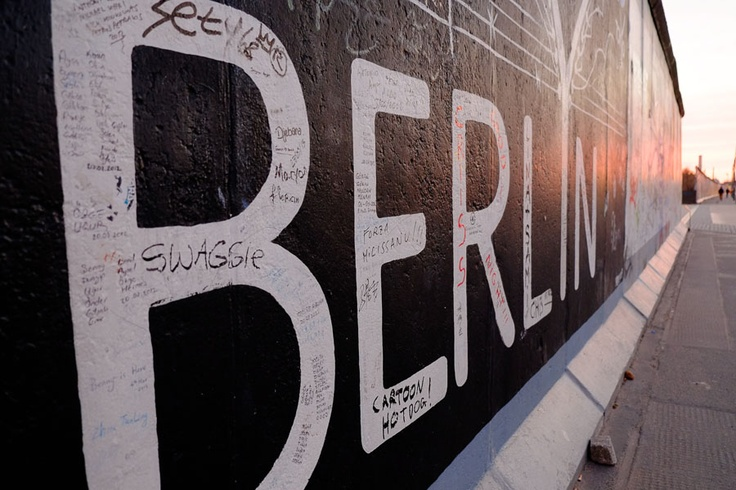 Berlin Wall - East Side Gallery. This particular picture was saved on my Pinterest page as something I wanted to find!