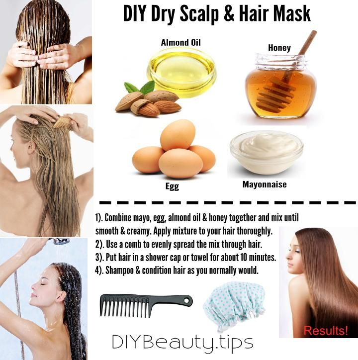 How to restore & rejuvenate with this mask for a dry hair & scalp