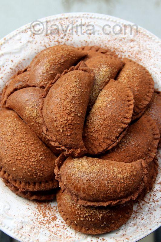 ~Chocolate dulce de leche empanadas~