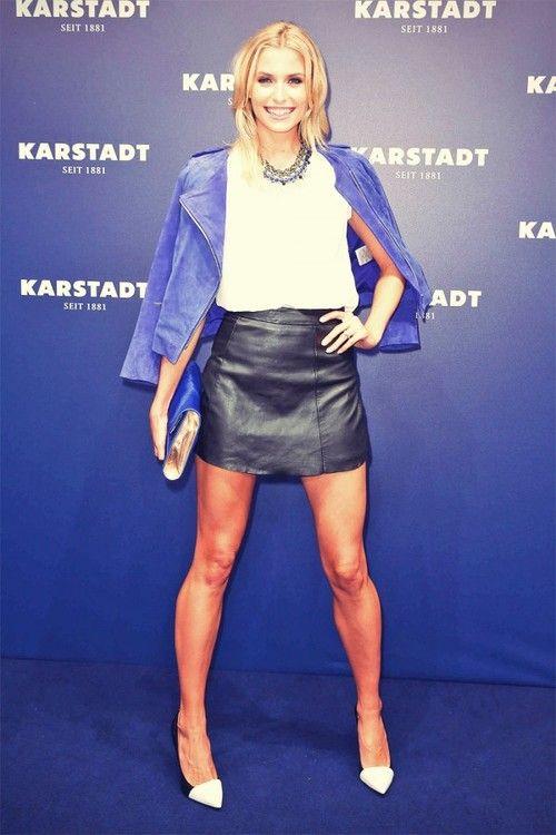 Lena Gercke attends Karstadt Feel London Launch Event | Leather Girls Blog