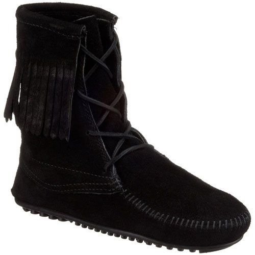 Minnetonka Women's Tramper Ankle Hi Mocassins Boots: Amazon.co.uk: Shoes & Bags