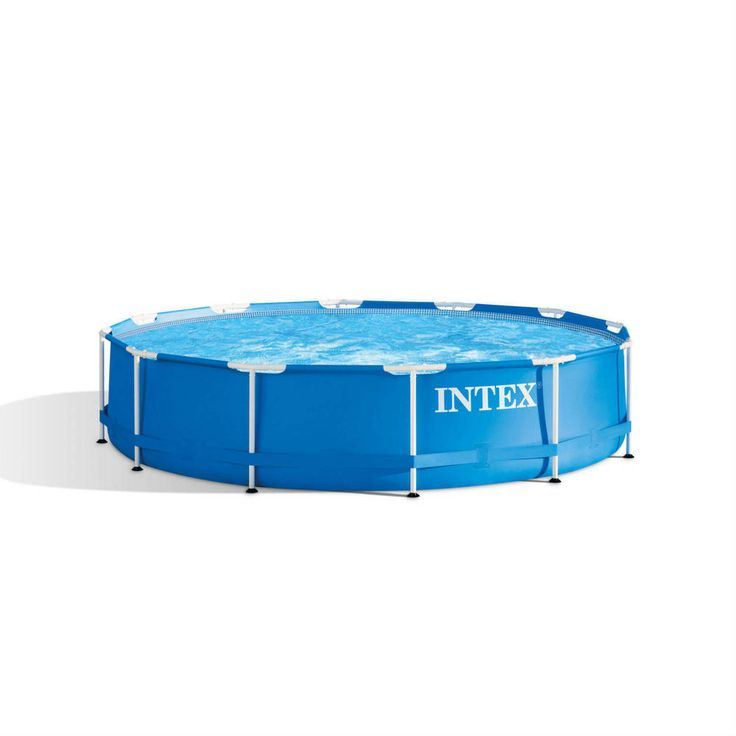 Above Ground Metal Frame Swimming Pool 12'x30'' Filter Pump Family Outdoor Play