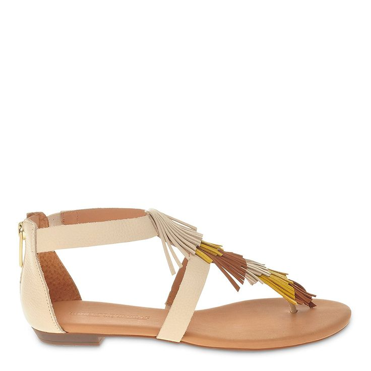 Roberto Durville Paris Women's Leather Flat Sandals * Learn more by visiting the image link. (This is an affiliate link and I receive a commission for the sales)