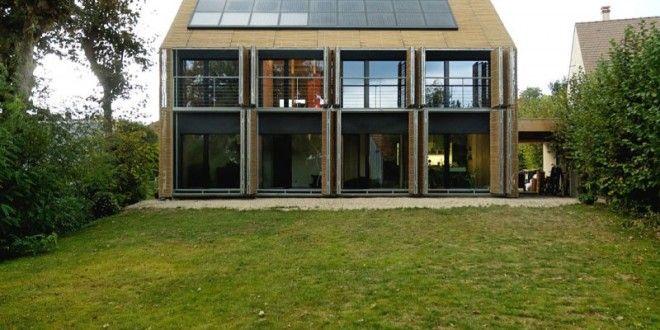 Le concept de maison passive se rapproche beaucoup de celui de maison solaire on utilise m - Maison passive design ...