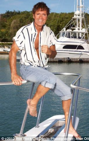 Cliff Richard: 2013 calendar shows off his physique | Daily Mail ...