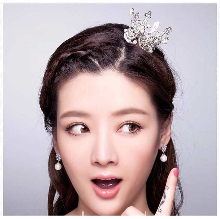 Classic Pearls Bridal Hair Crown Tiara Small Cosume Wedding Hair Jewelry For Girls-in Hair Jewelry from Jewelry & Accessories on Aliexpress.com   Alibaba Group