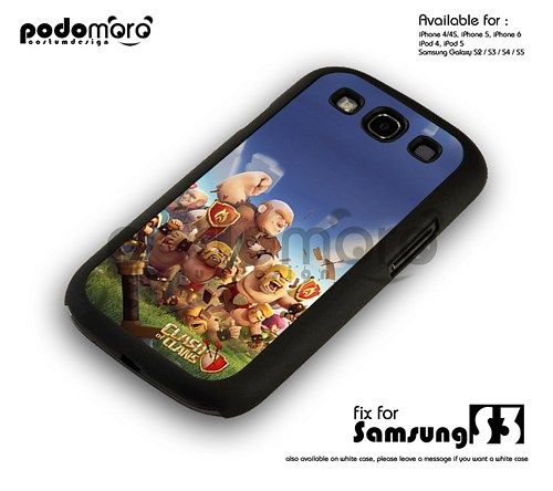 BD 408 Clash Of Clans  - samsung s3