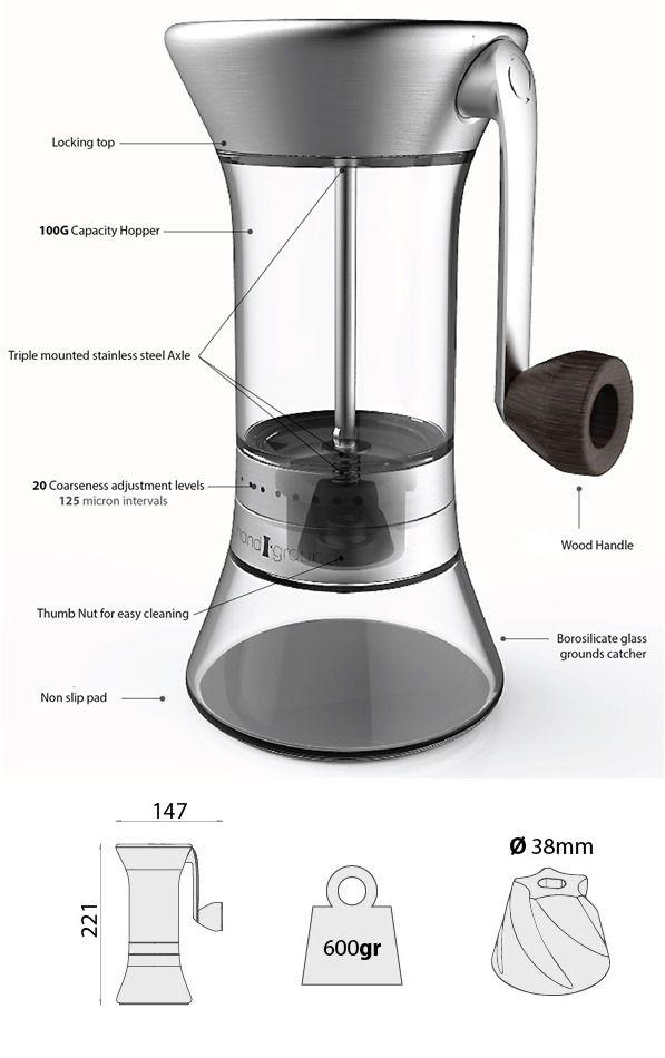 Precision Coffee Grinder: Better Grind, More Flavor by Handground — Kickstarter