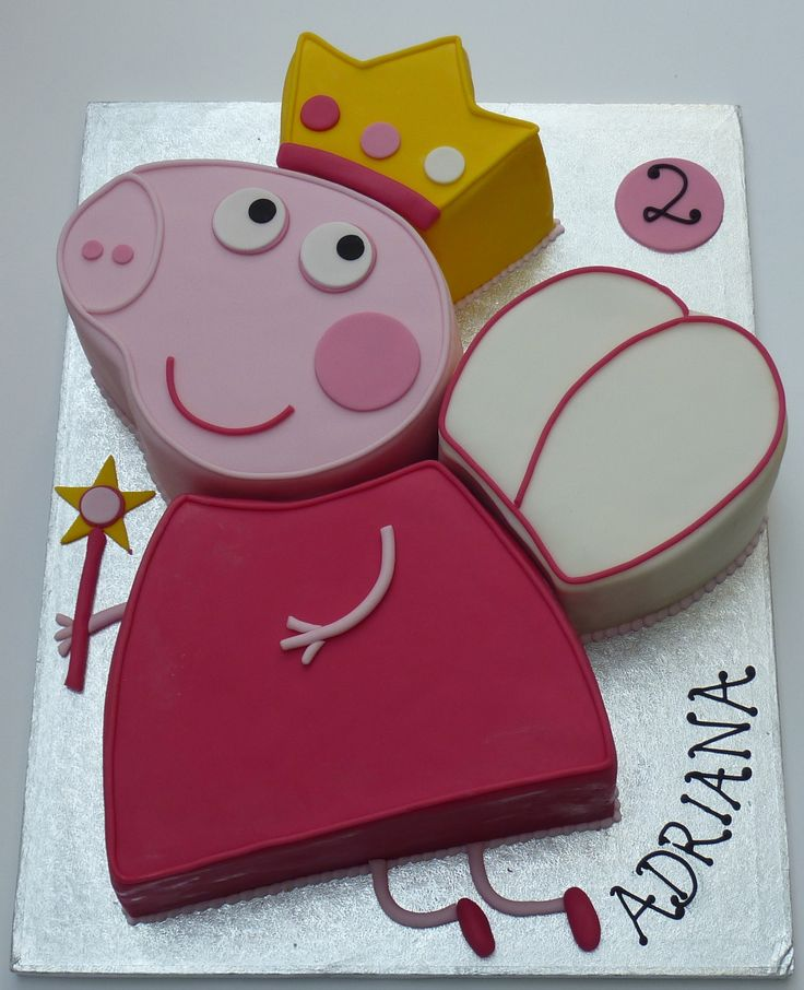 peppa pig cake pan 25 best ideas about pig birthday cakes on 6457