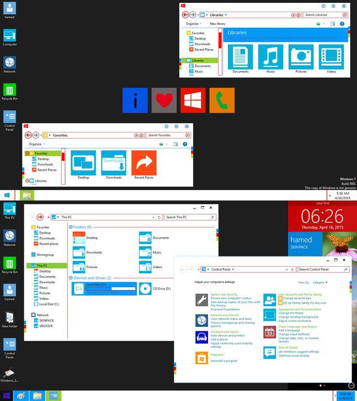 Best Windows 7 Desktop Themes – Jerusalem House