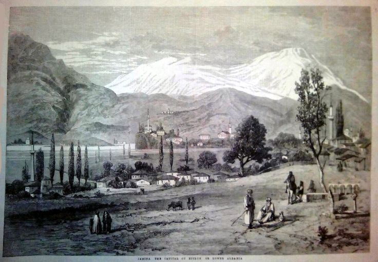 Janina, the capital of Epirus, London News 5 Μαΐου 1862