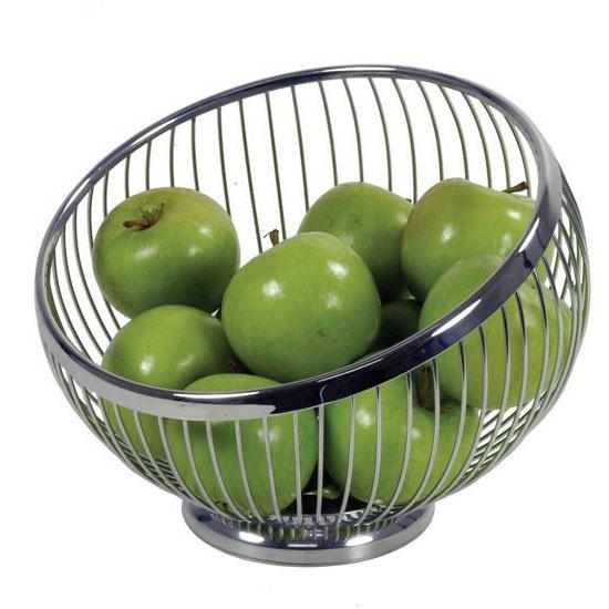 Avanti Stainless Steel Wire Fruit Basket 22 x 17cm
