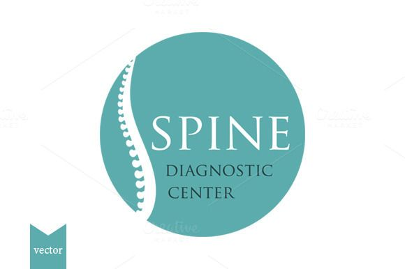 Spine Diagnostic Center logo by A.Lila on Creative Market
