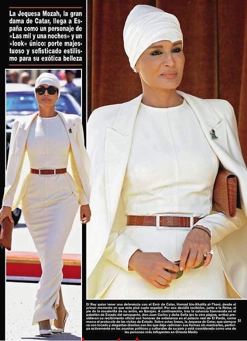 Sheikhamozah Of Qatar Fashion Of Royalty Pinterest Head Wraps Hijab Fashionista And Haute